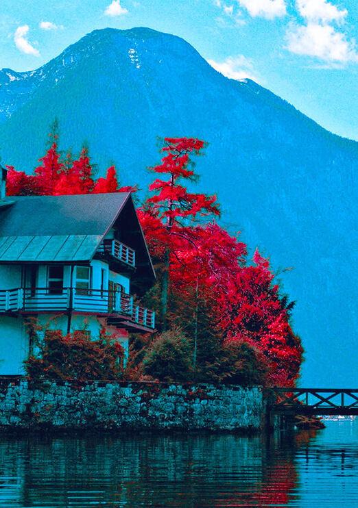 Infrared Film Effect or Look in Photoshop - Kodak EIR emulation