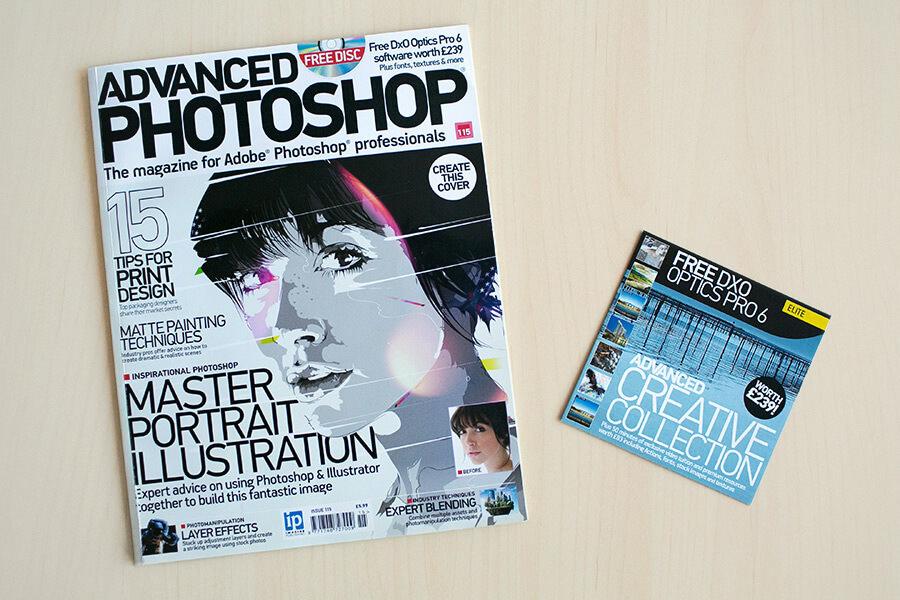 featured on advanced photoshop magazine 1