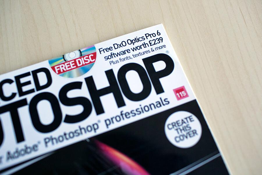 featured on advanced photoshop magazine 3