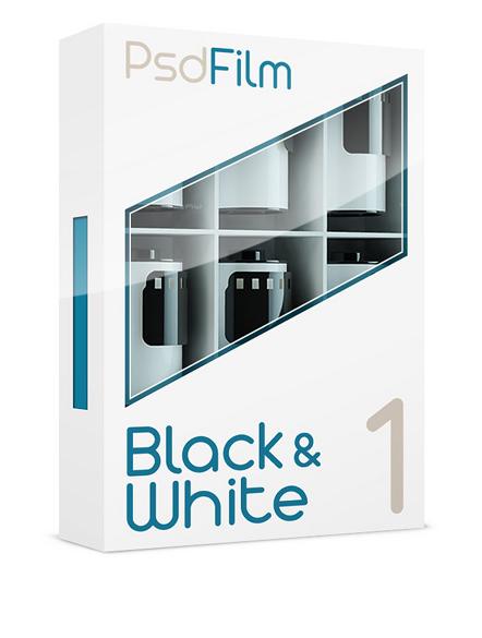 black and white films emulation photoshop 1