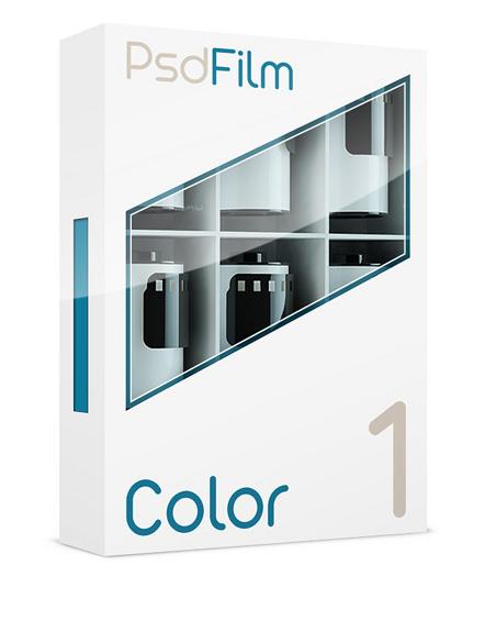 Color films emulation  1