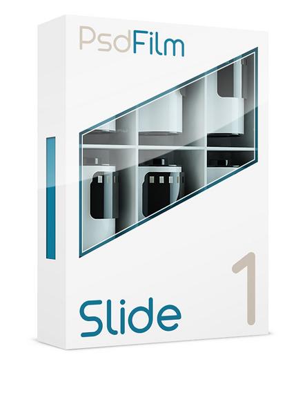 Slide films emulation photoshop 1